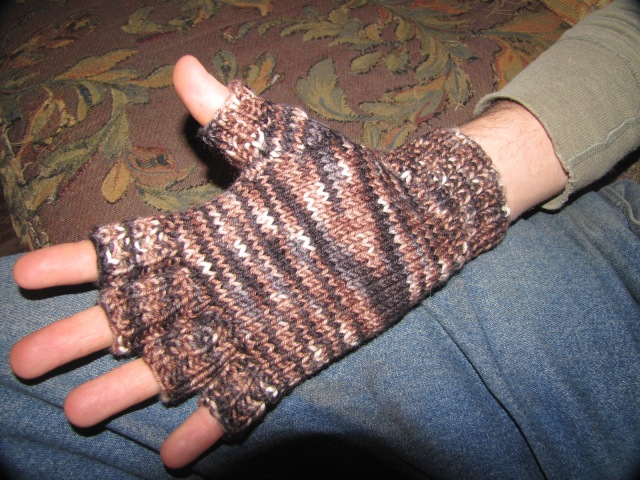 fingerless gloves palm