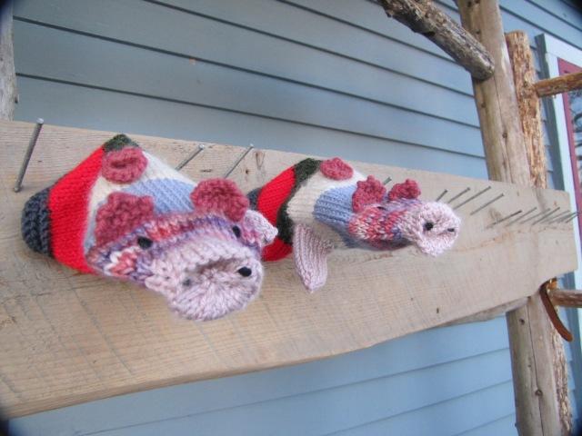 hanging piggy mittens