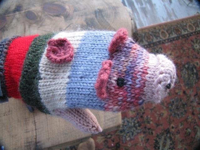 Piggy Mitten