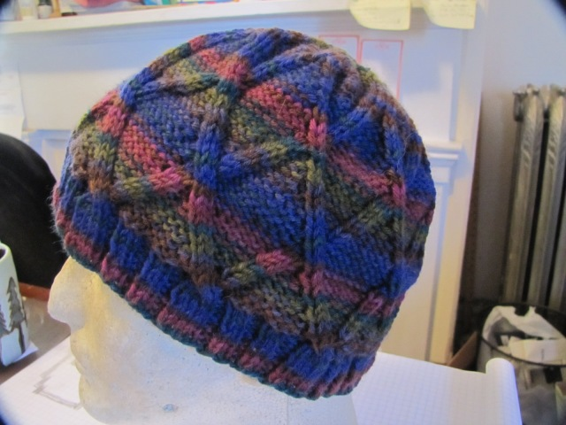 Rylands Hat on head form