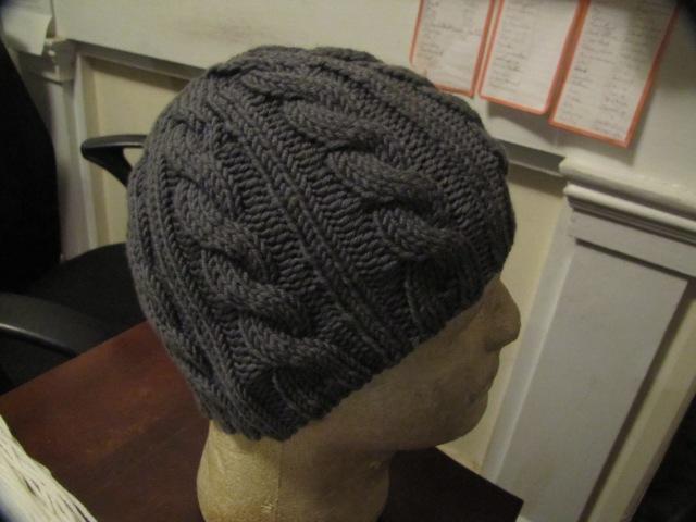 Irish hiking hat in grey