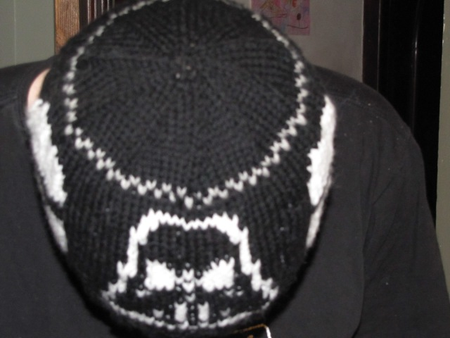 top of Star Wars Hat