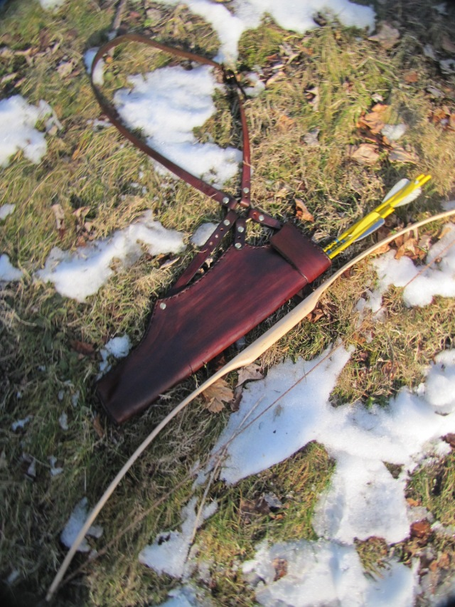 quiver on ground