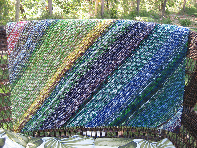 sediments scrap blanket from pattern page