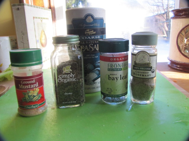 spices for split pea soup