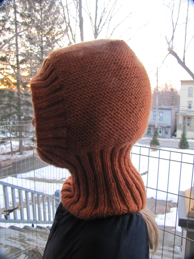 Uhlan hat with ribbing tube