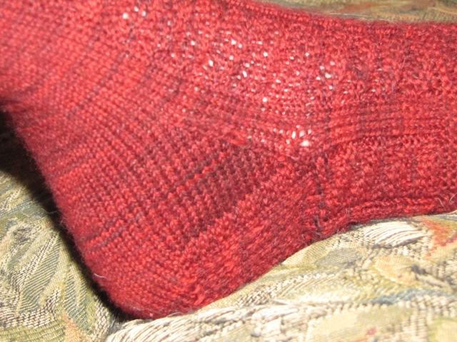 moody stocking heel