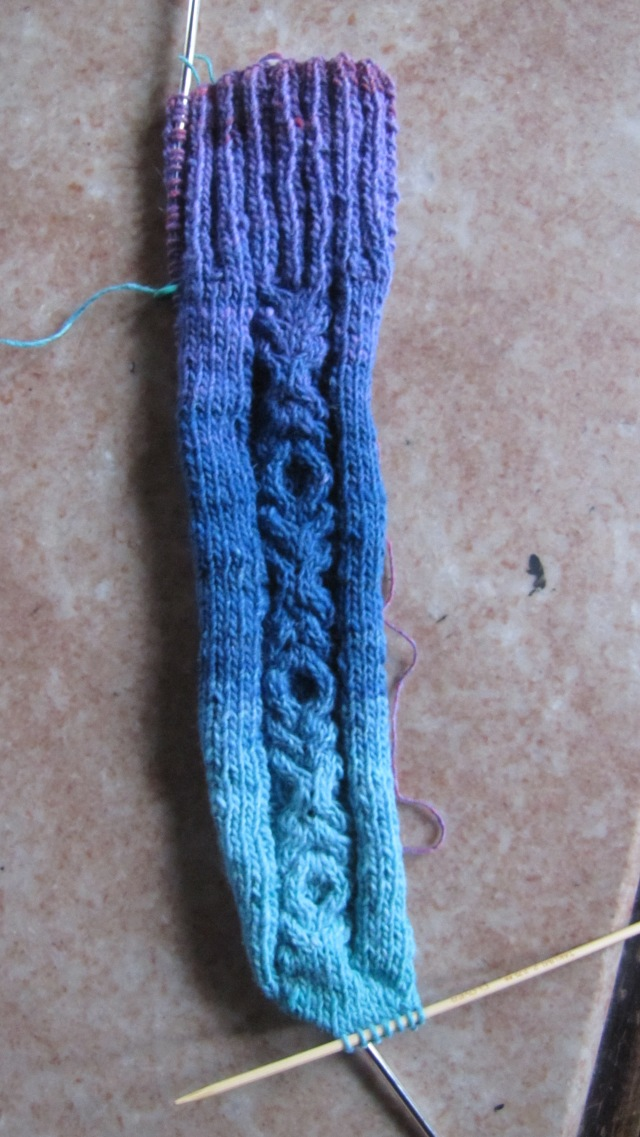 clue one of sock strap sock