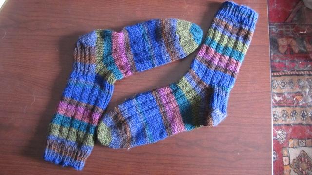 Chip's Thuja Socks