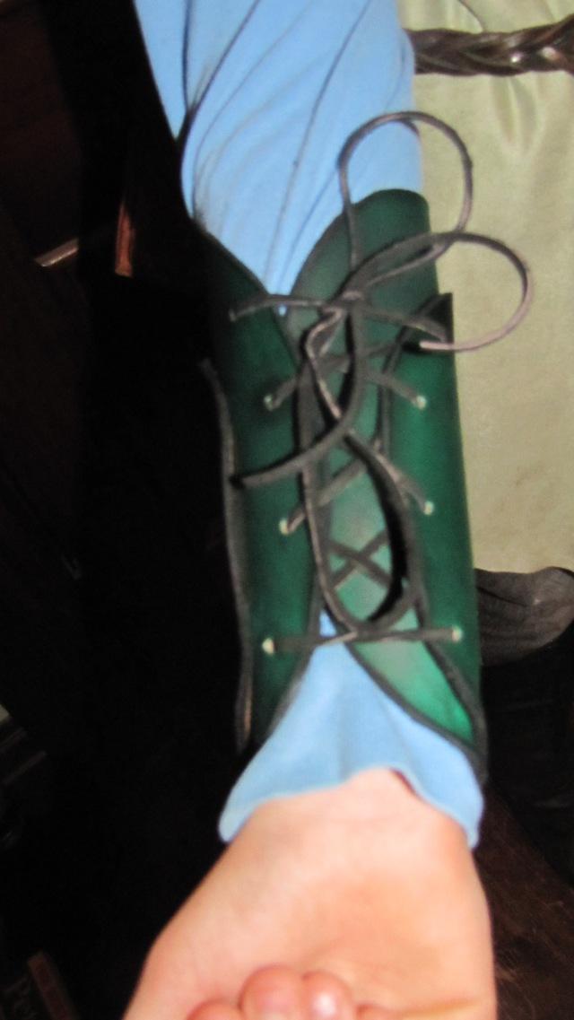 green Legolas Bracers