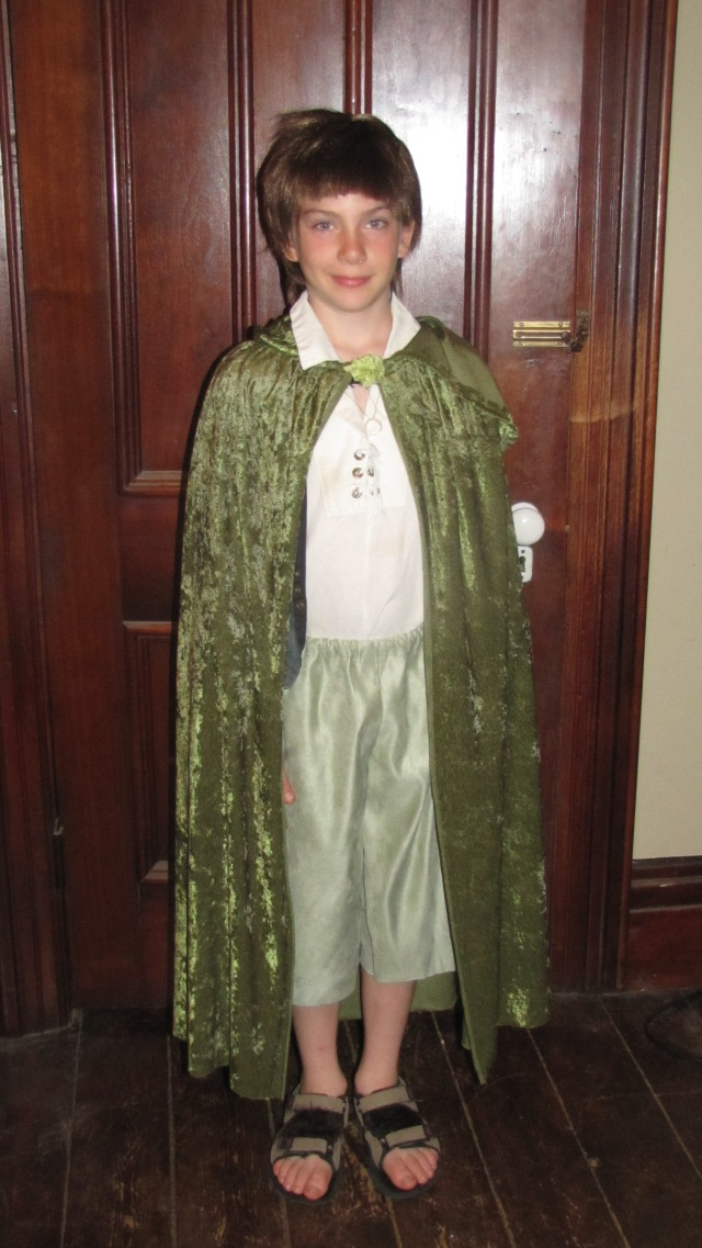 Jesse as Frodo