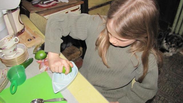 Vash juicing limes