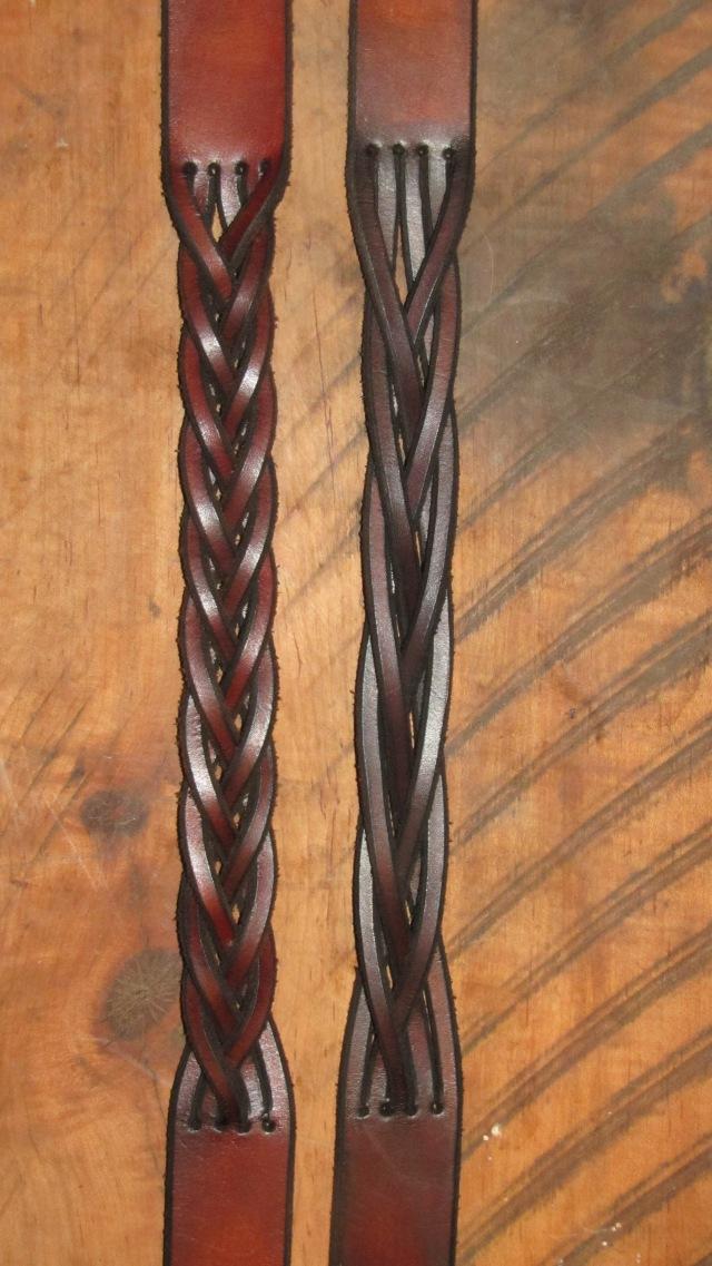 2 flip and 4 flip braids
