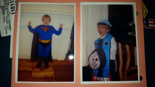 Superman and Thomas the Tank Engine