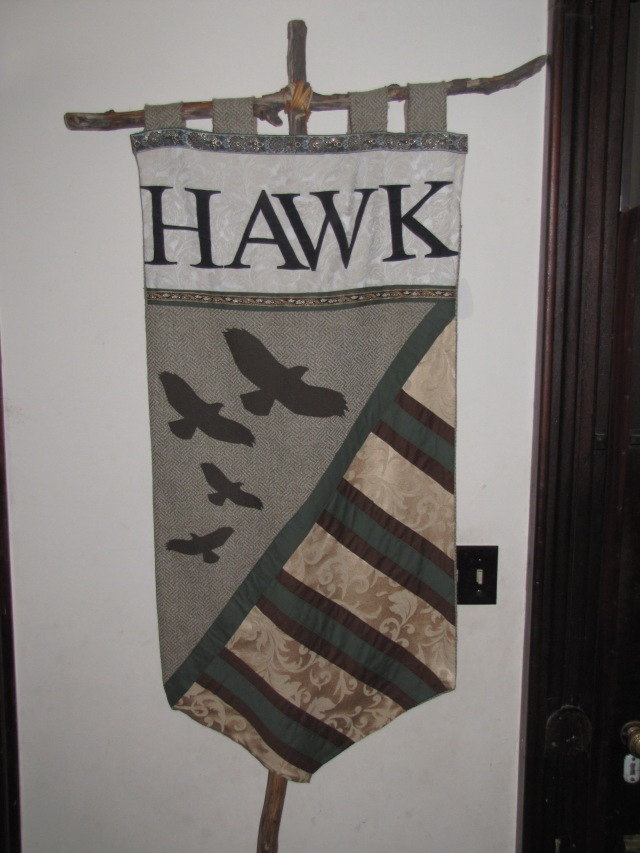 Our Hawk Banner